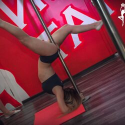 Занятие Exotic Pole Dance в группе #09