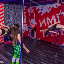 Занятие Exotic Pole Dance в группе #11